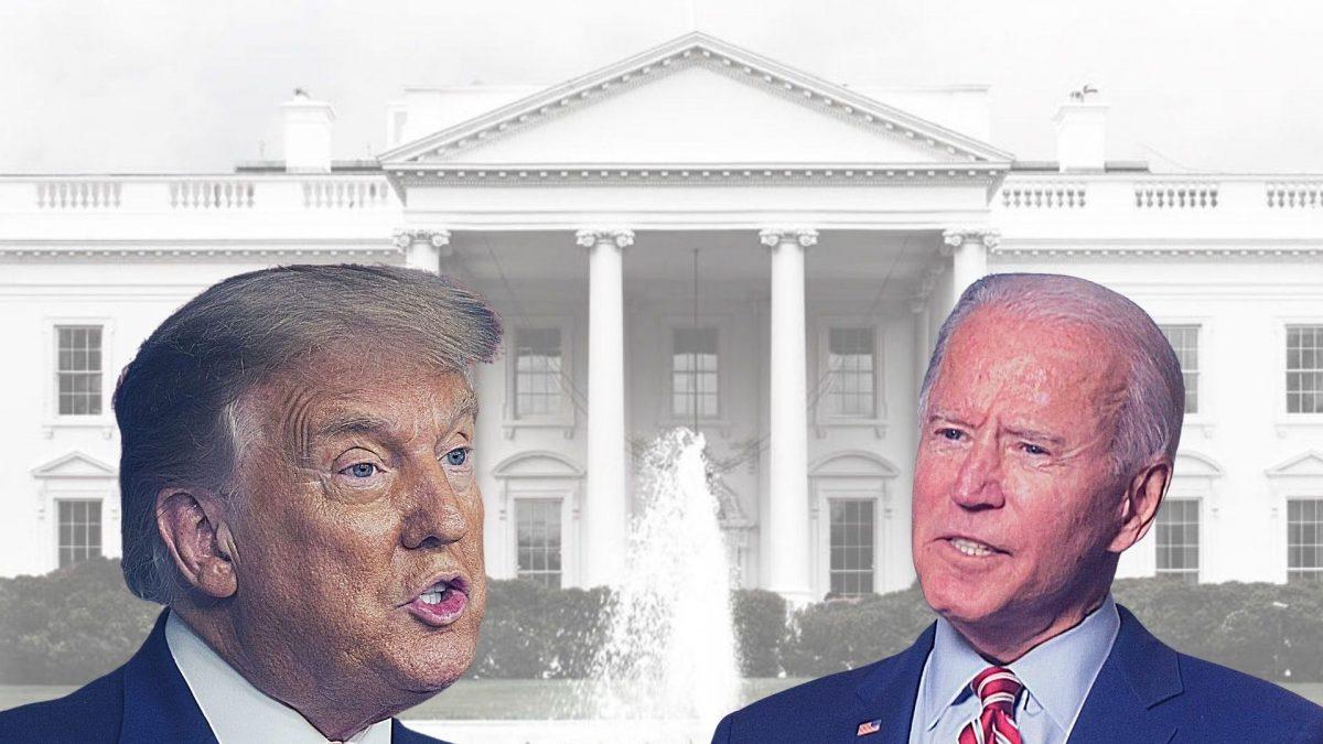 White House: Biden & Trump
