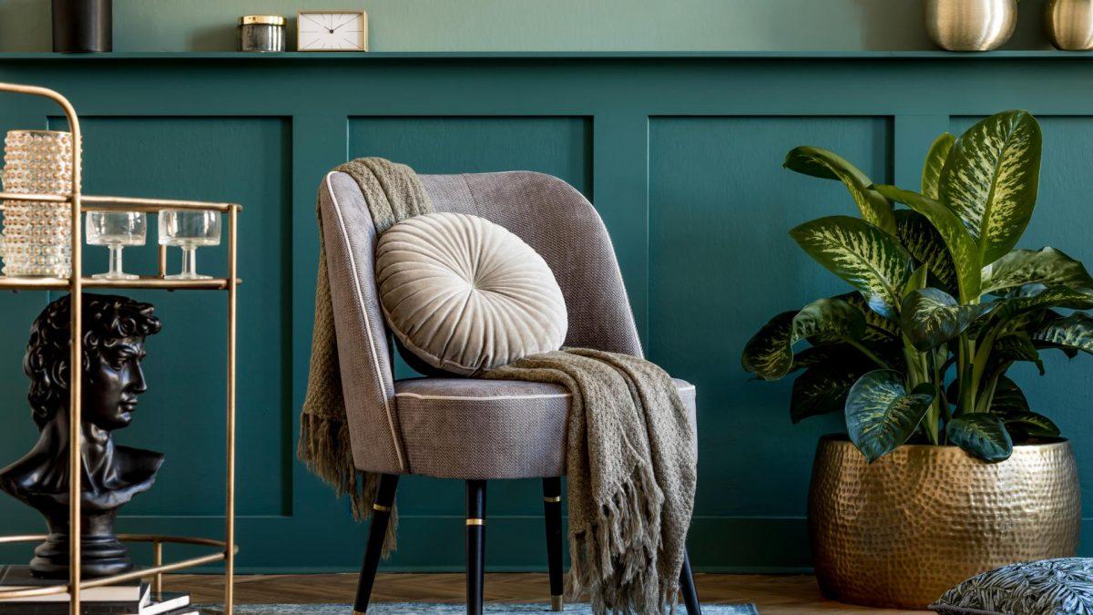 Wohntrends 2021, Wohnzimmer, Farbe, Opulenz