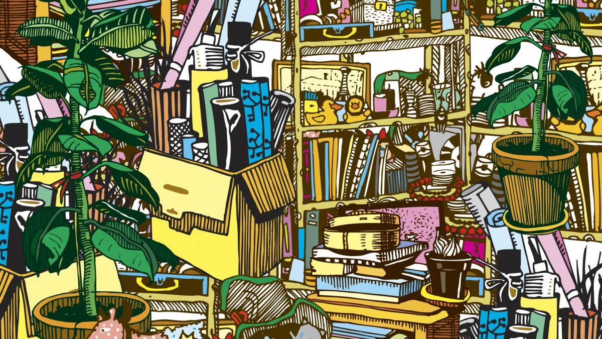 Wohnung entrümpeln, dreckig, unordentlich, aufräumen