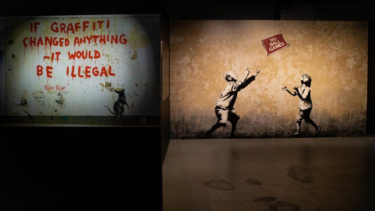 banksy kunst art street ausstellung