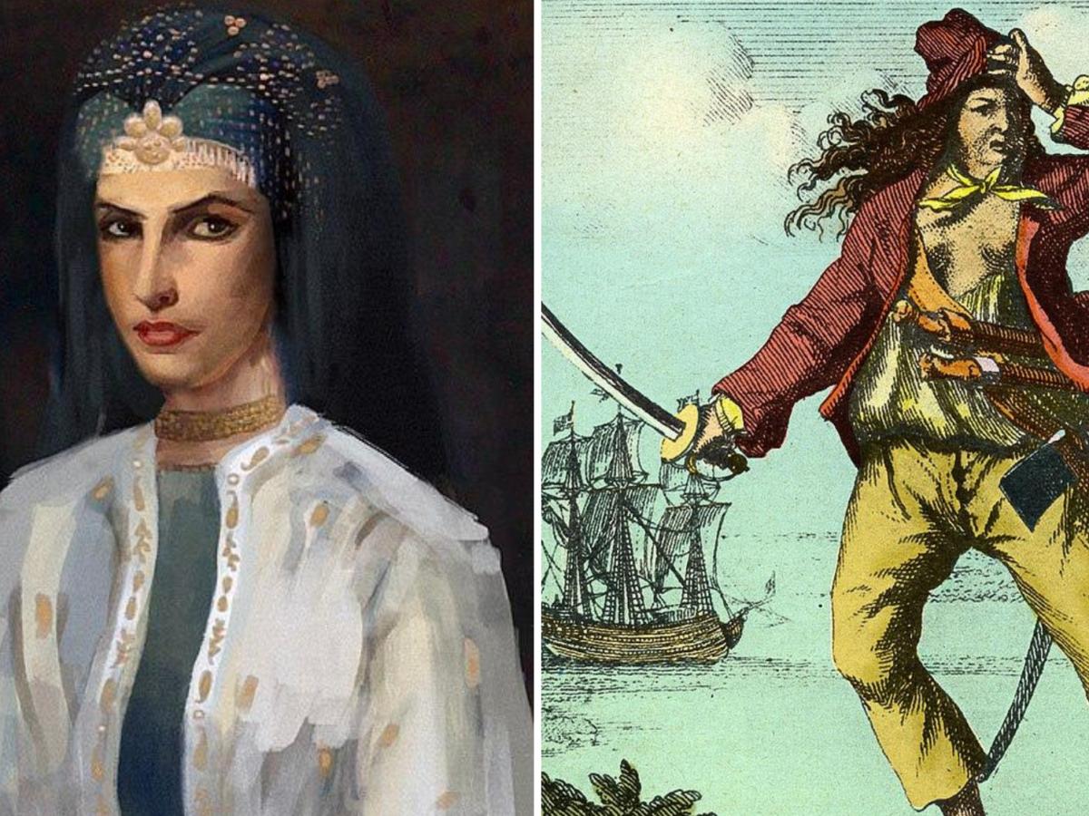 berühmte Piratinnen Piratin