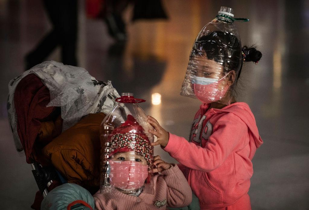 china corona kinder maske