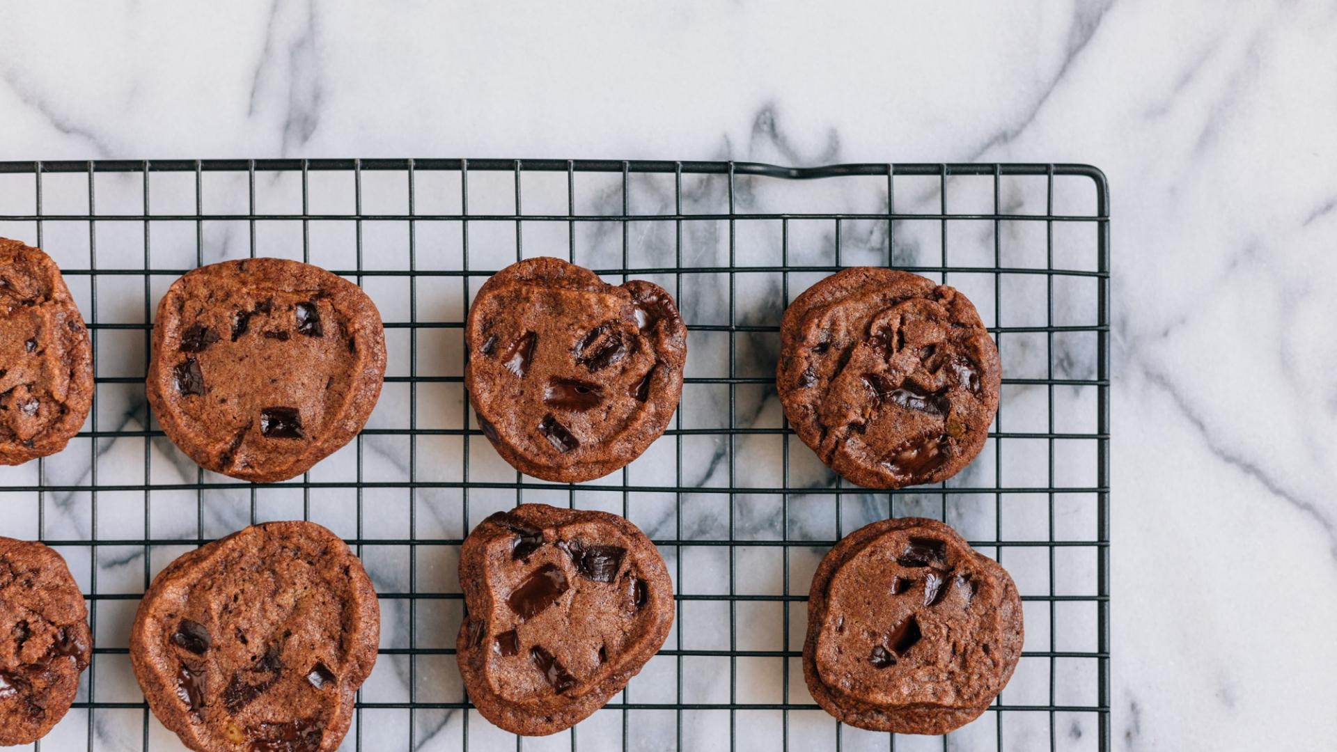 cookies kekse backen blech schoko
