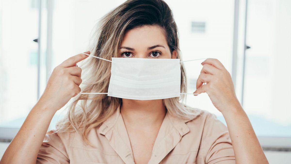 corona mundschutz maske gesicht virus impfen