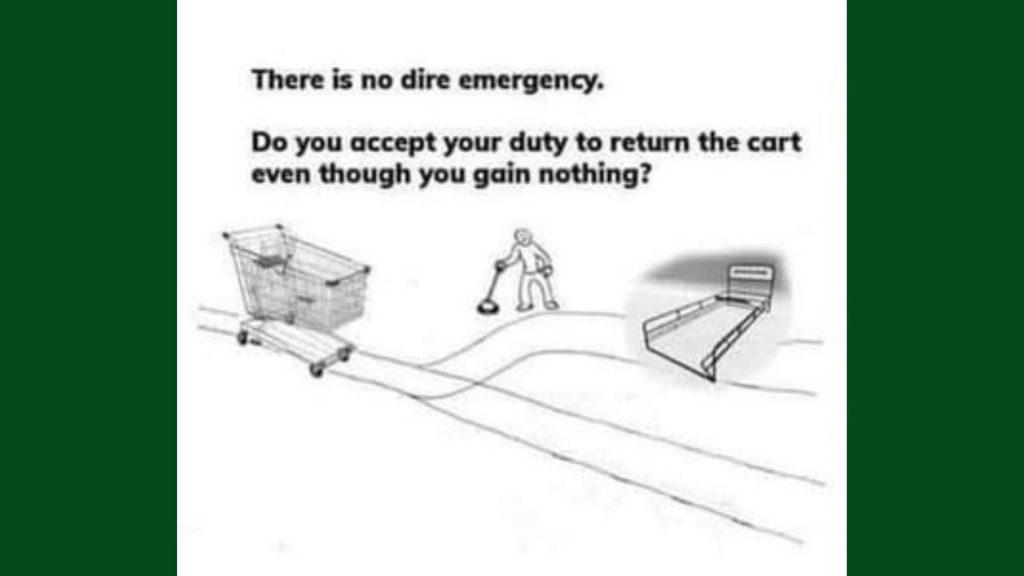 die Einkaufswagentheorie