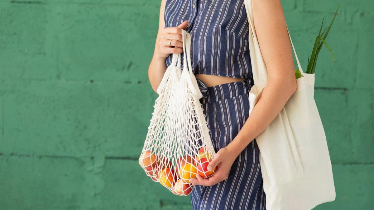 einkaufen Beutel Lebensmittel