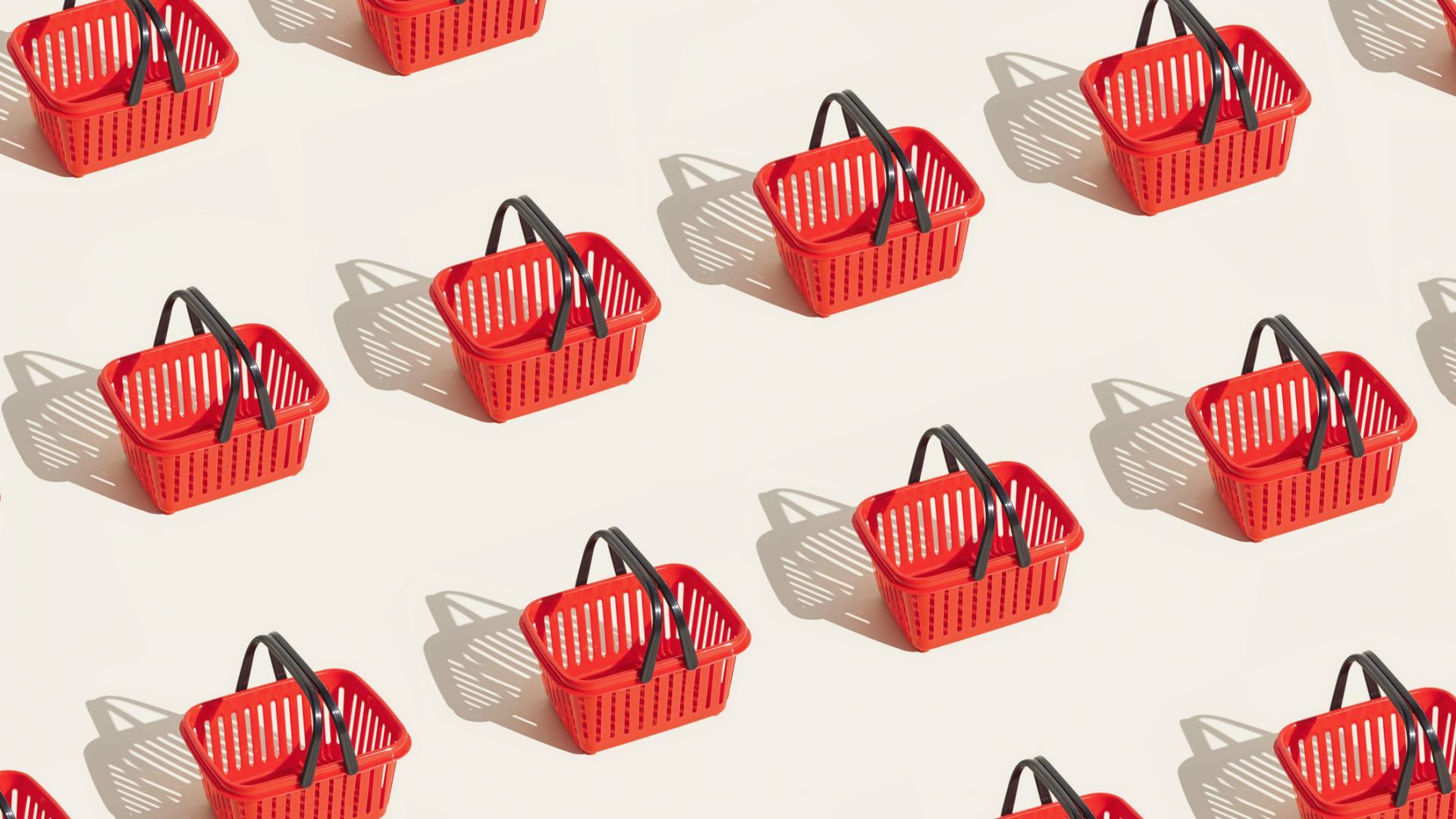 einkaufen einkaufskorb shopping