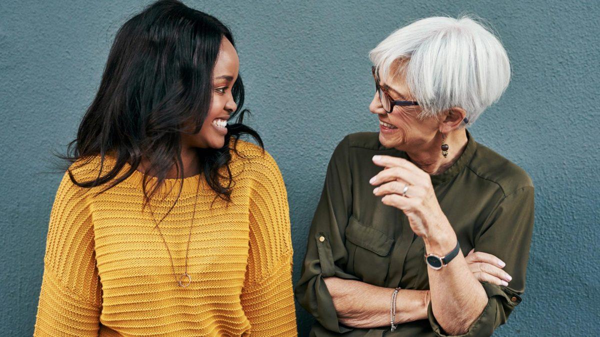 jung alt Frauen