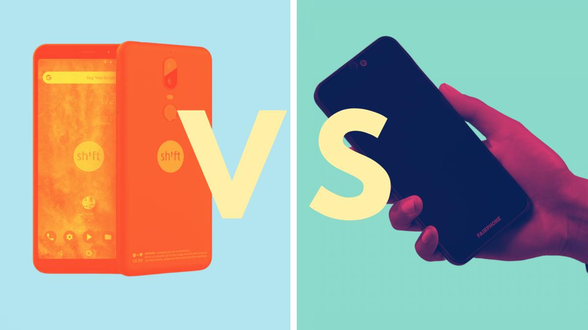 nachhaltige smartphones fairphone vs shiftphone