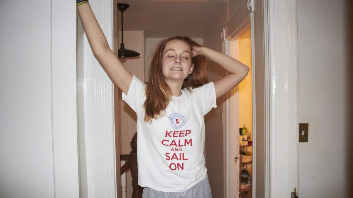 Teenager Schläft Ganzen Tag