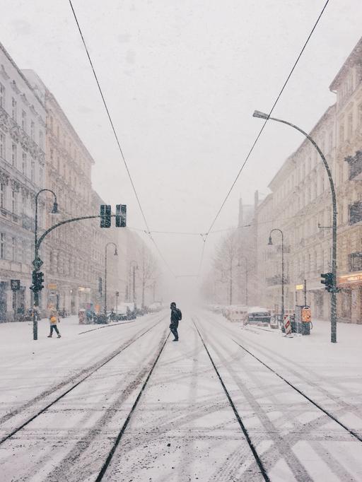 schnee berlin stadt weihnachten