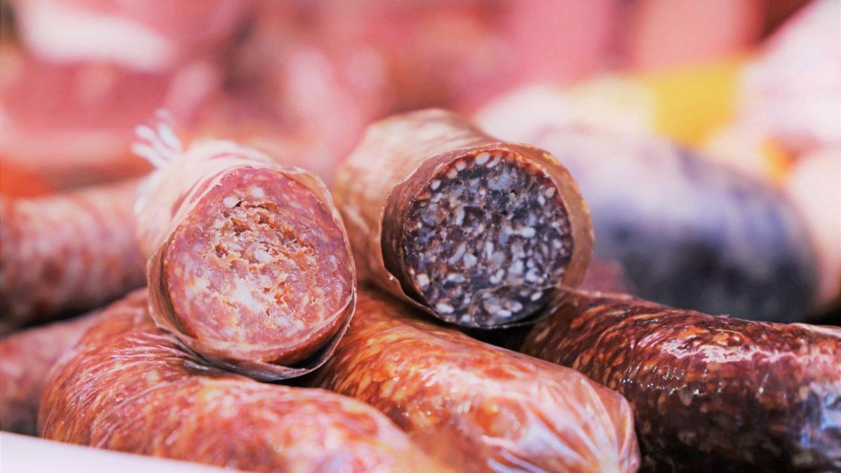 wurst leberwurst salami einkauf fleisch