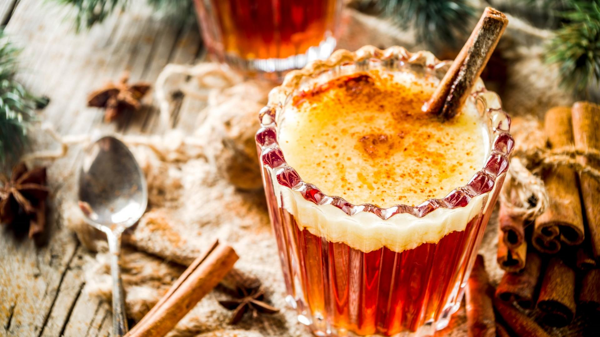 Rum mit Apfelsaft