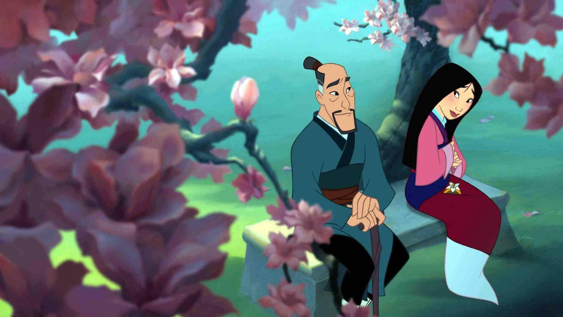 Mulan und Papa
