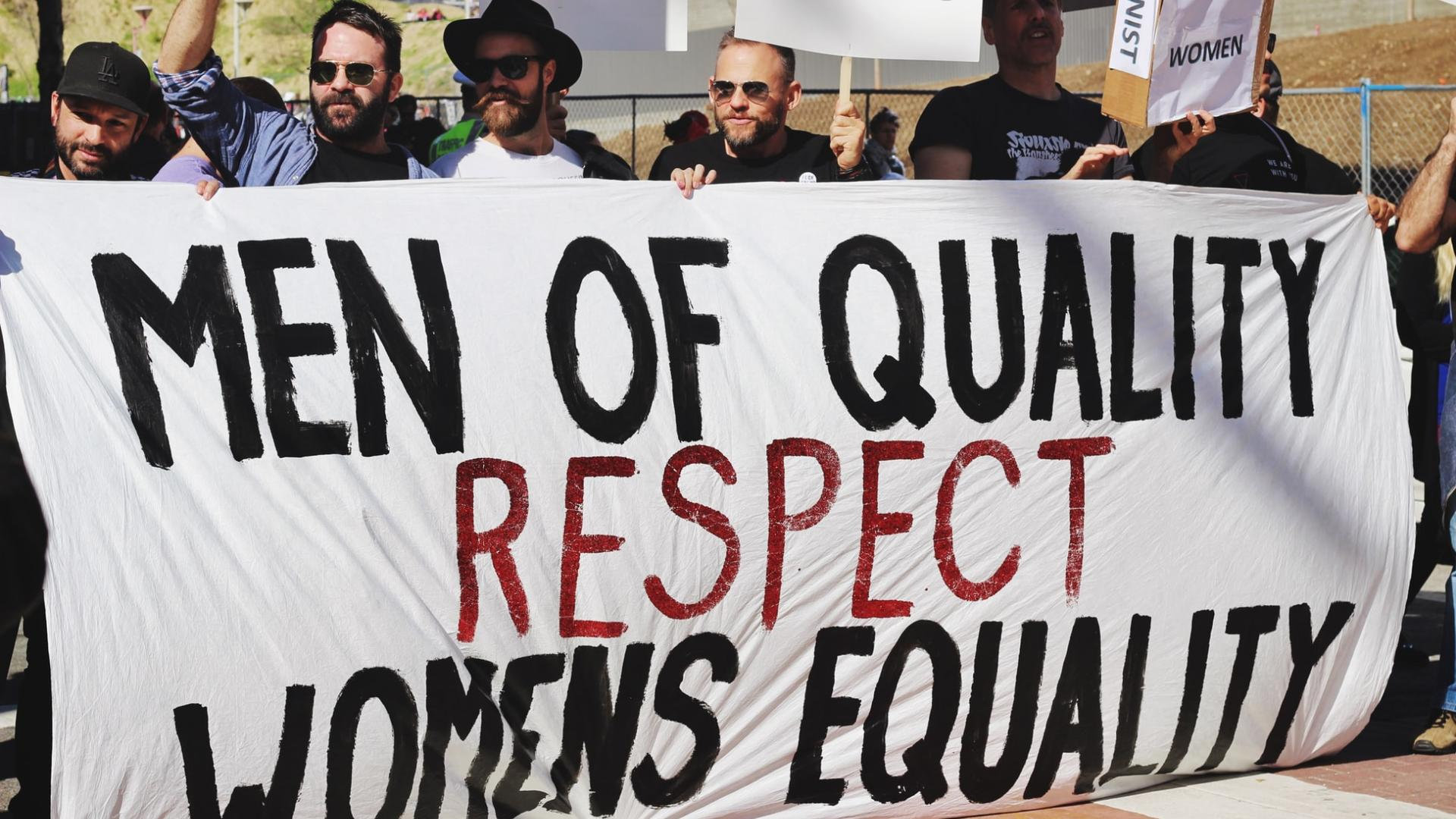 Respekt für Frauen