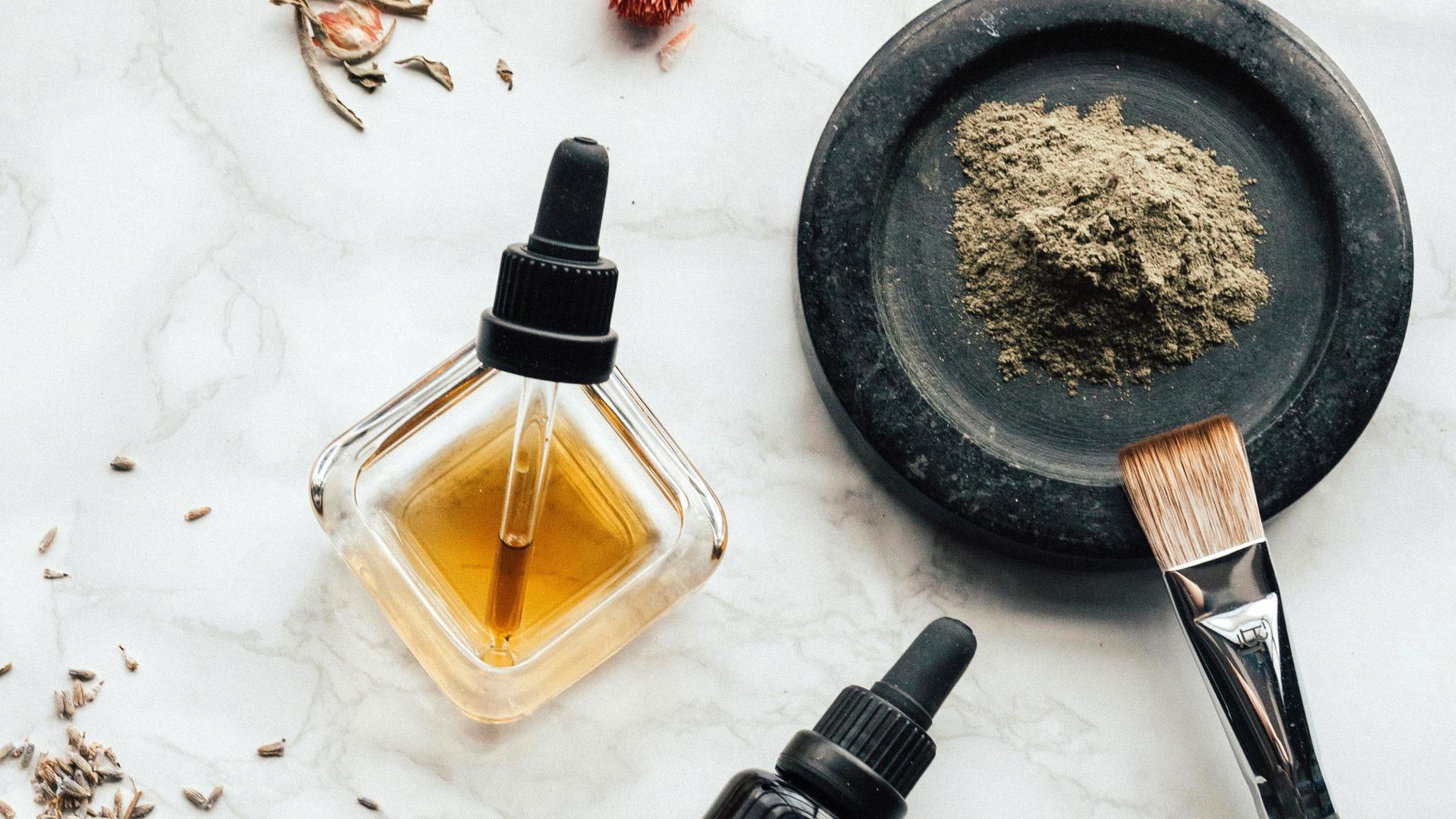 DIY Kosmetik schön arrangiert