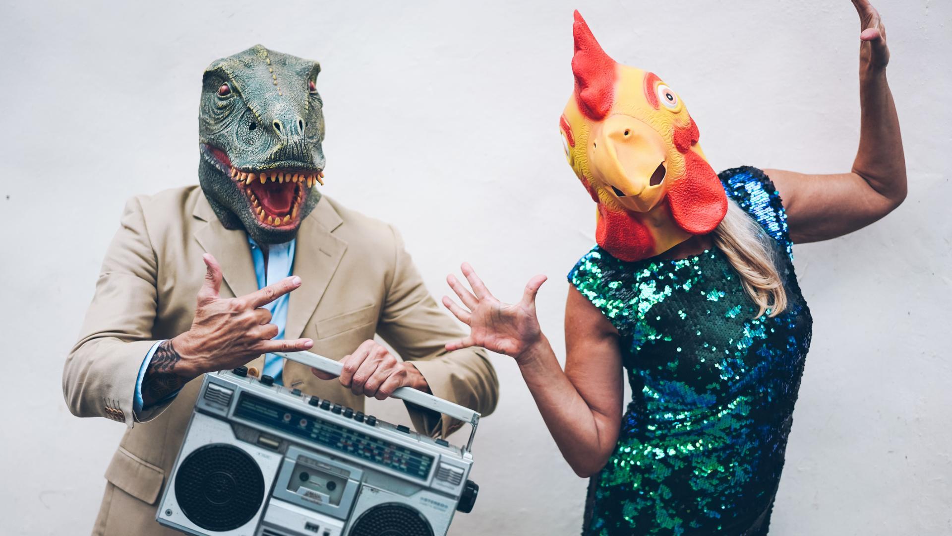Masken als Kostüm