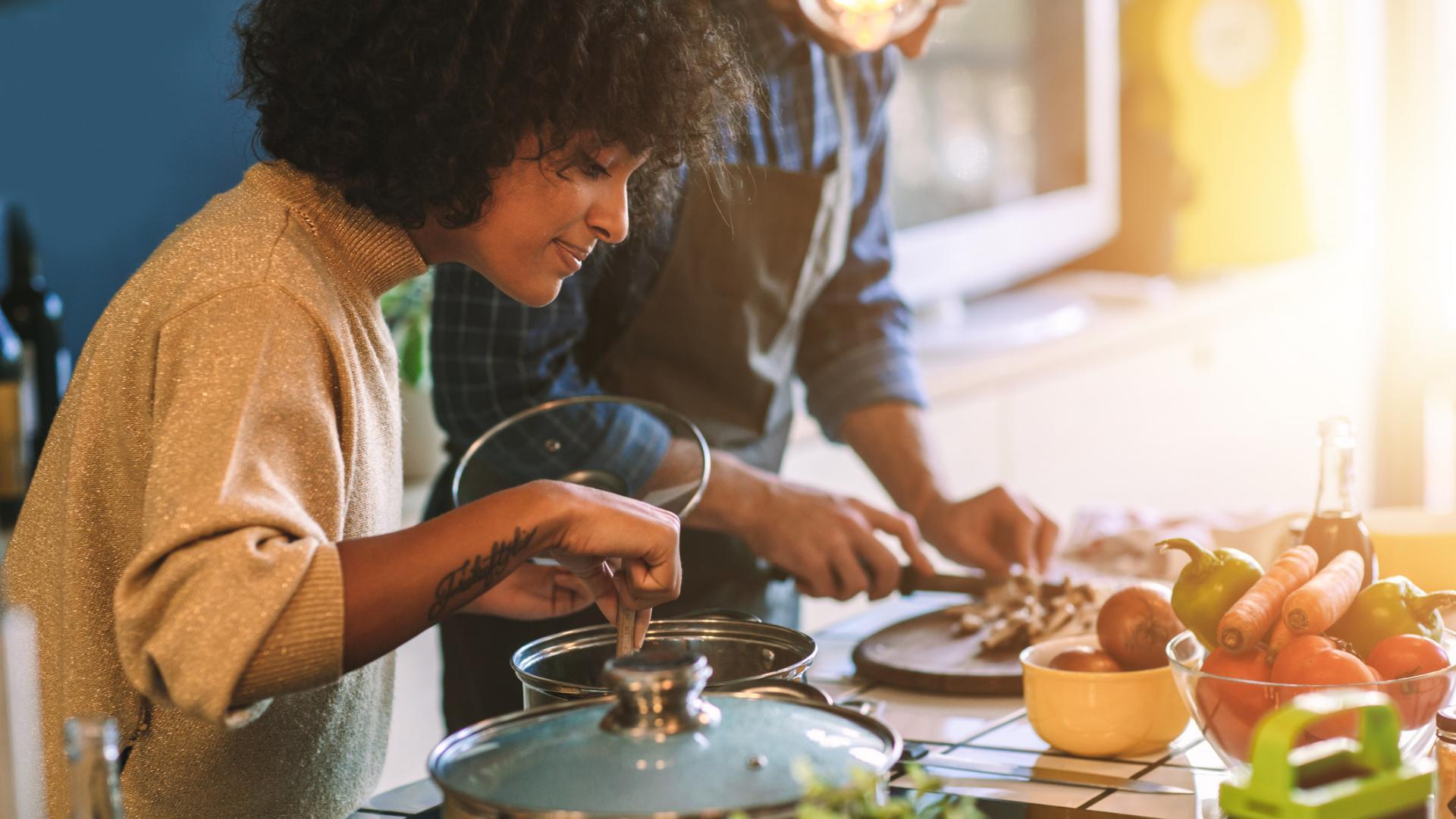 Kochen, gesund