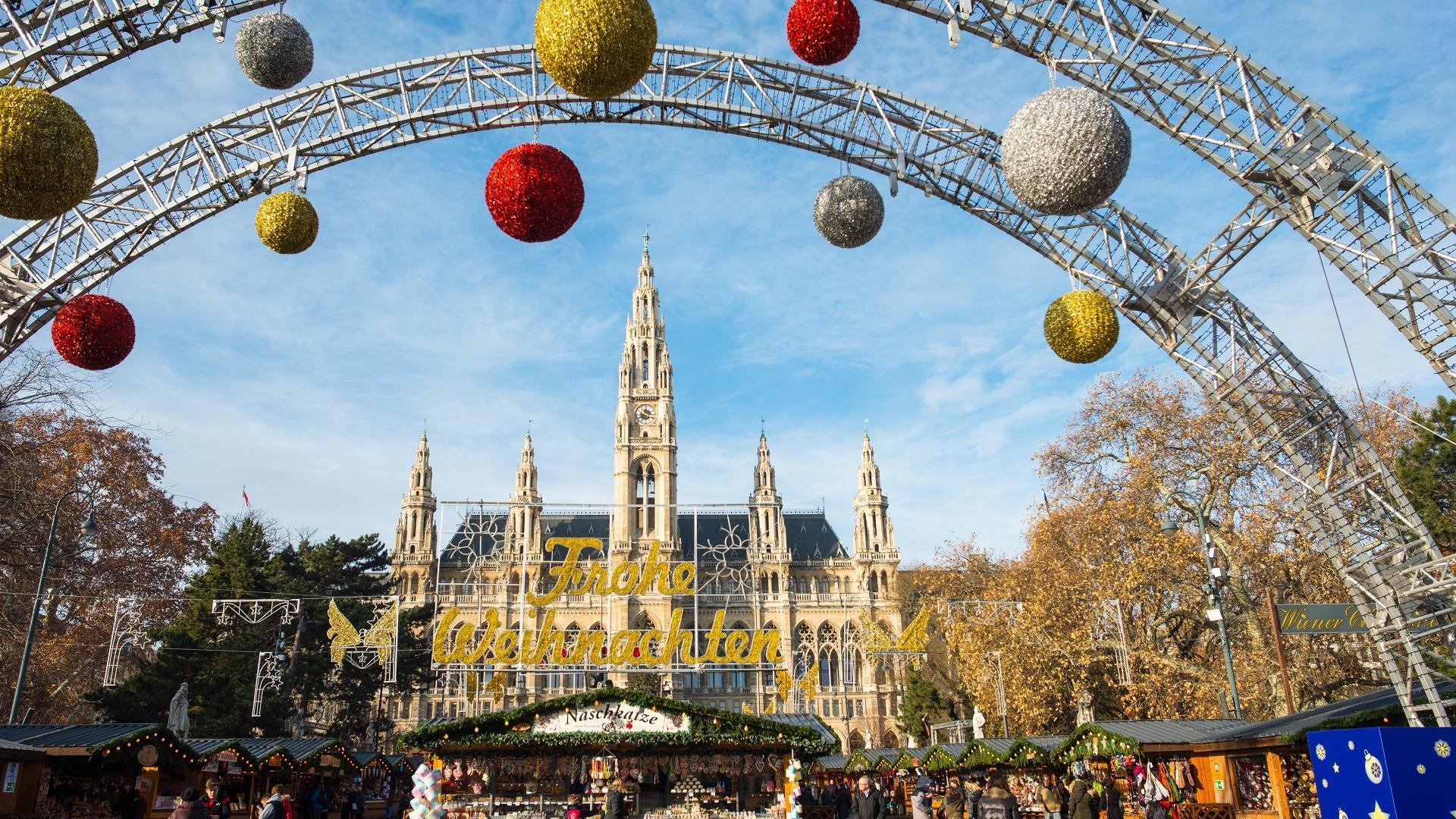 Christkindlmarkt in Wien