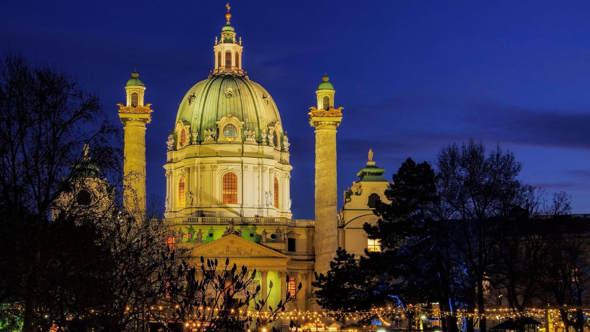 Wien Karlsplatz Weihnachtsmarkt