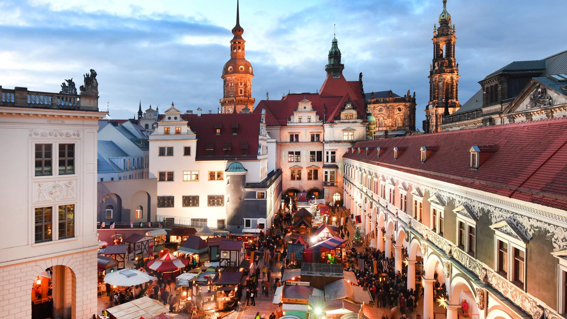 Dresden Mittelalterweihnachtsmarkt im Stallhof Dresden