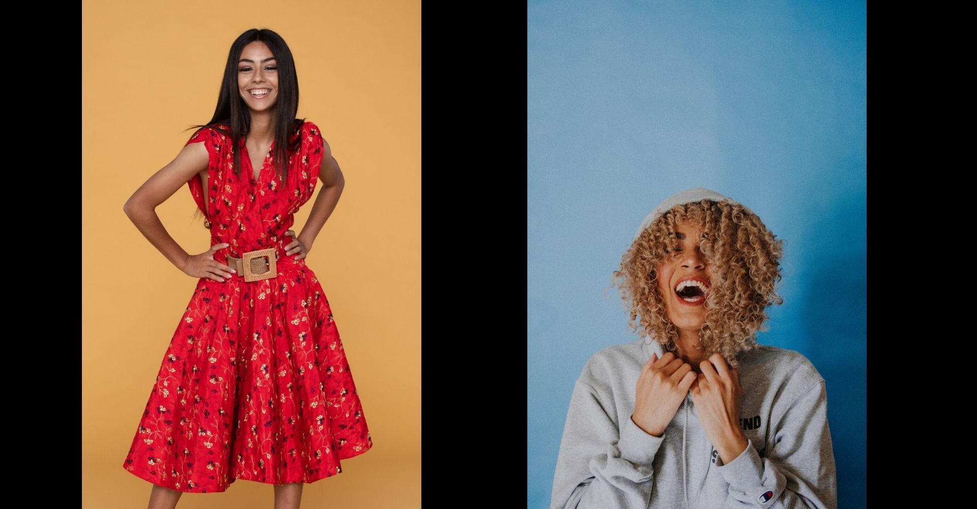 Kleid vs. Kapuizenpulli
