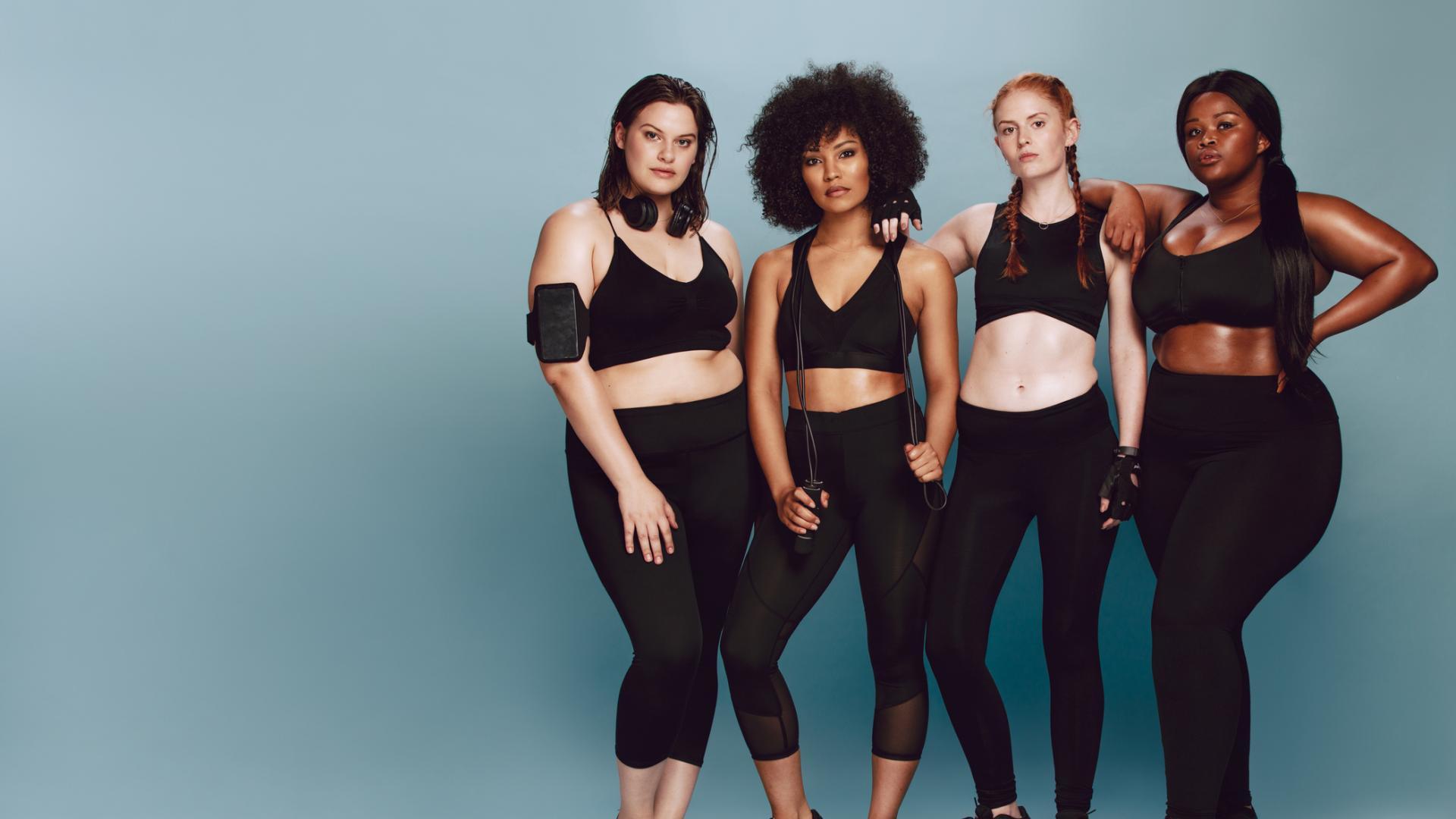 Frauengruppe, Sport, Kampf