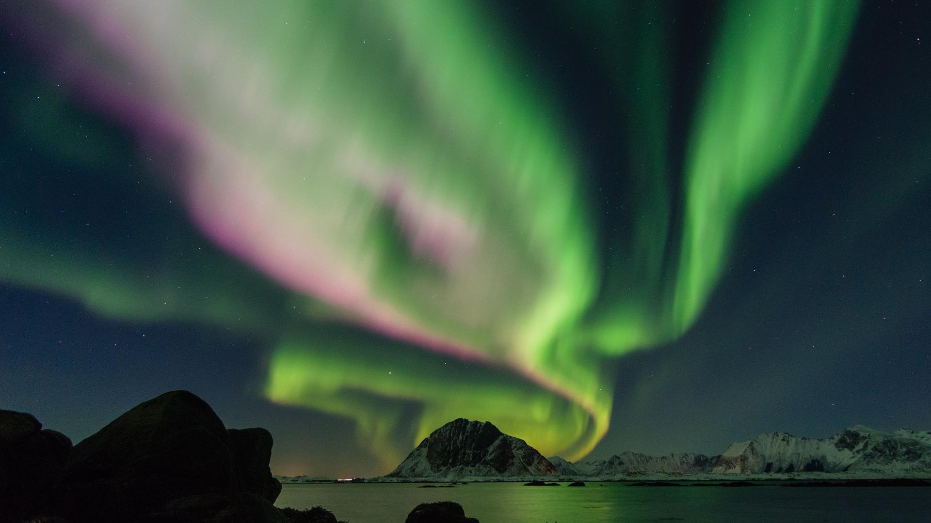Heiraten im Ausland: Polarlichter