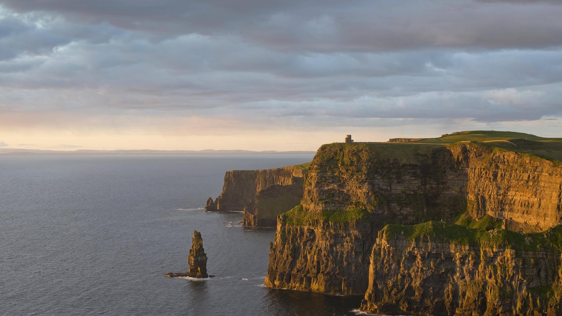 Die Cliffs of Moher in irlannd