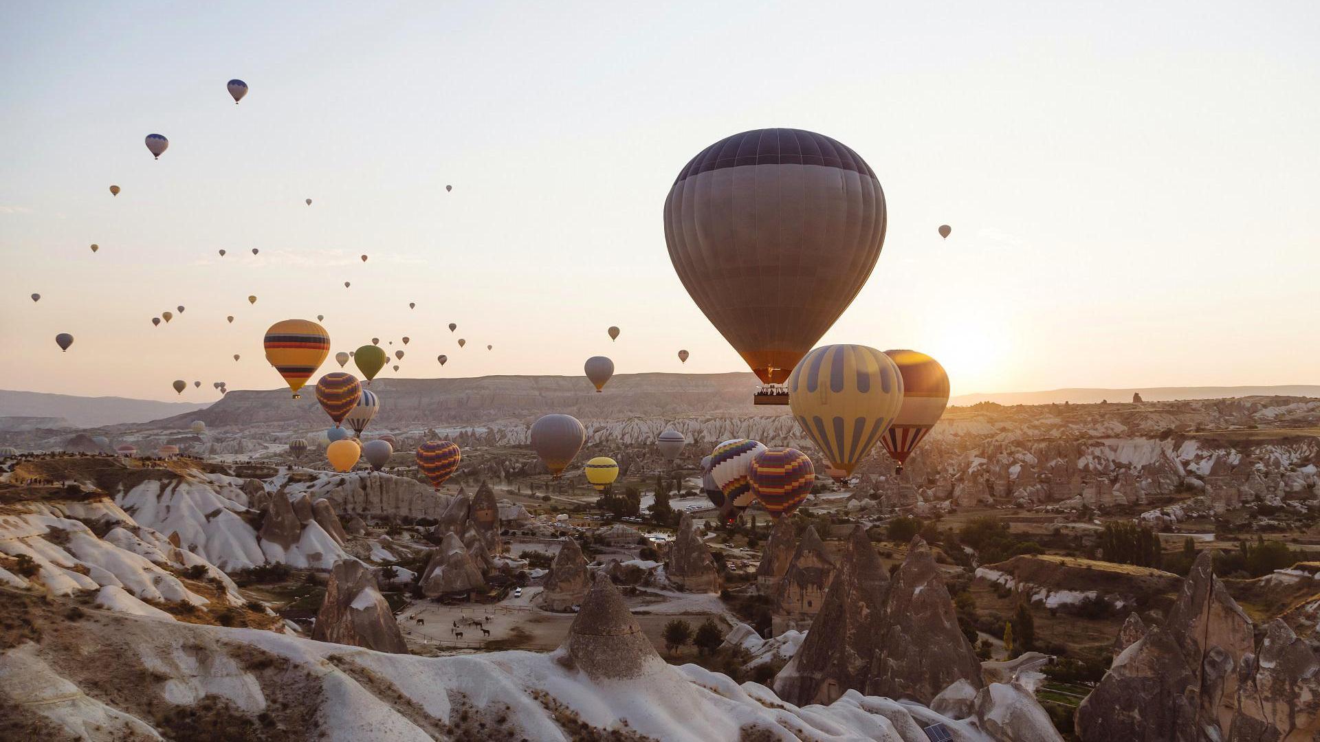 Luftballons in den Kappadokien