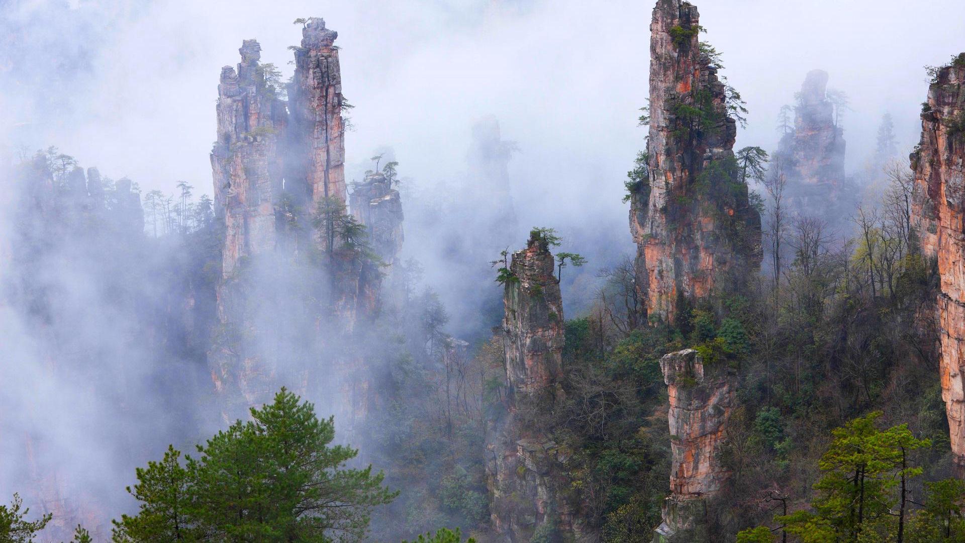 Tianzi Gebirge China