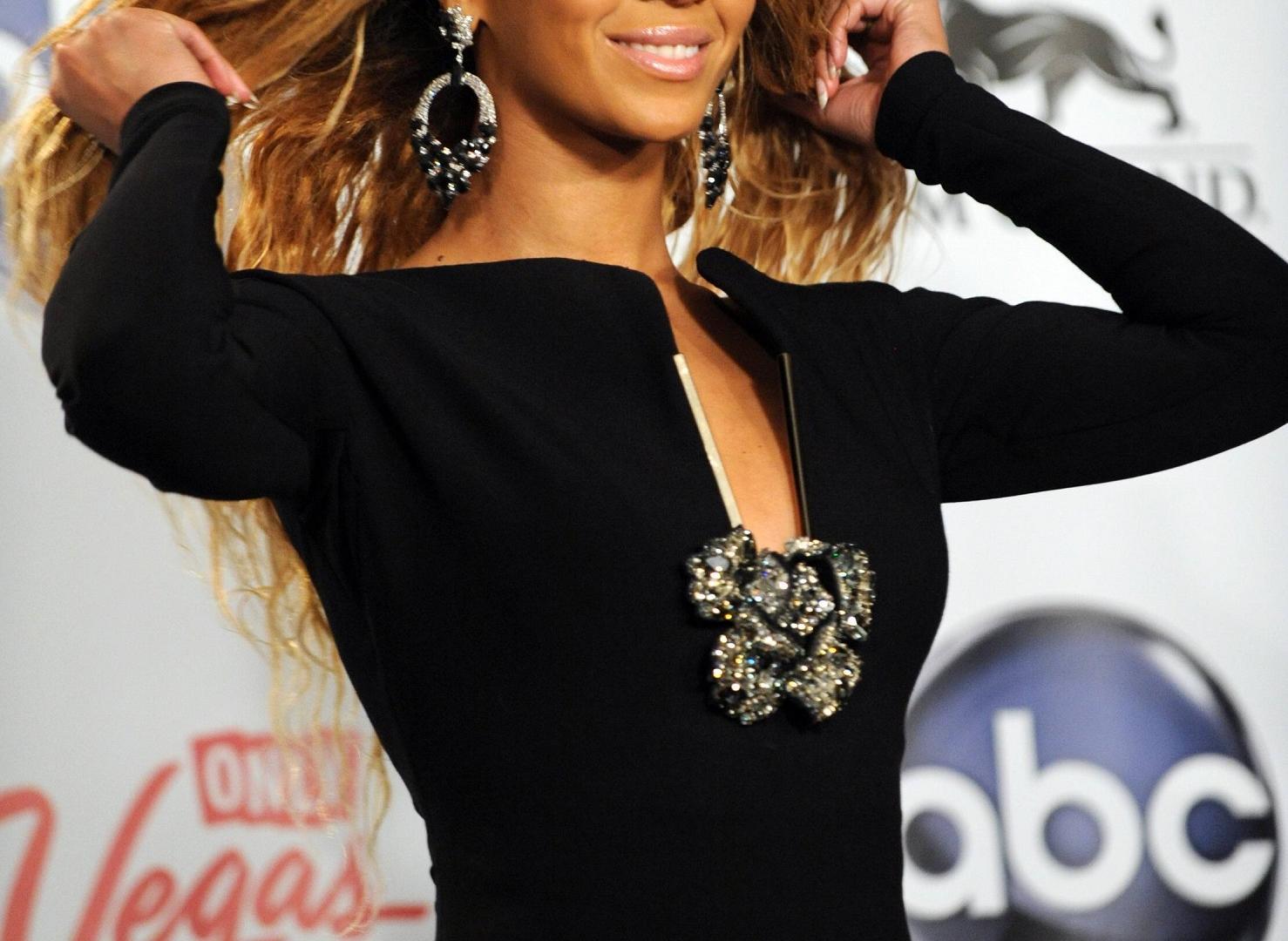 Beyoncé auf einer Gala