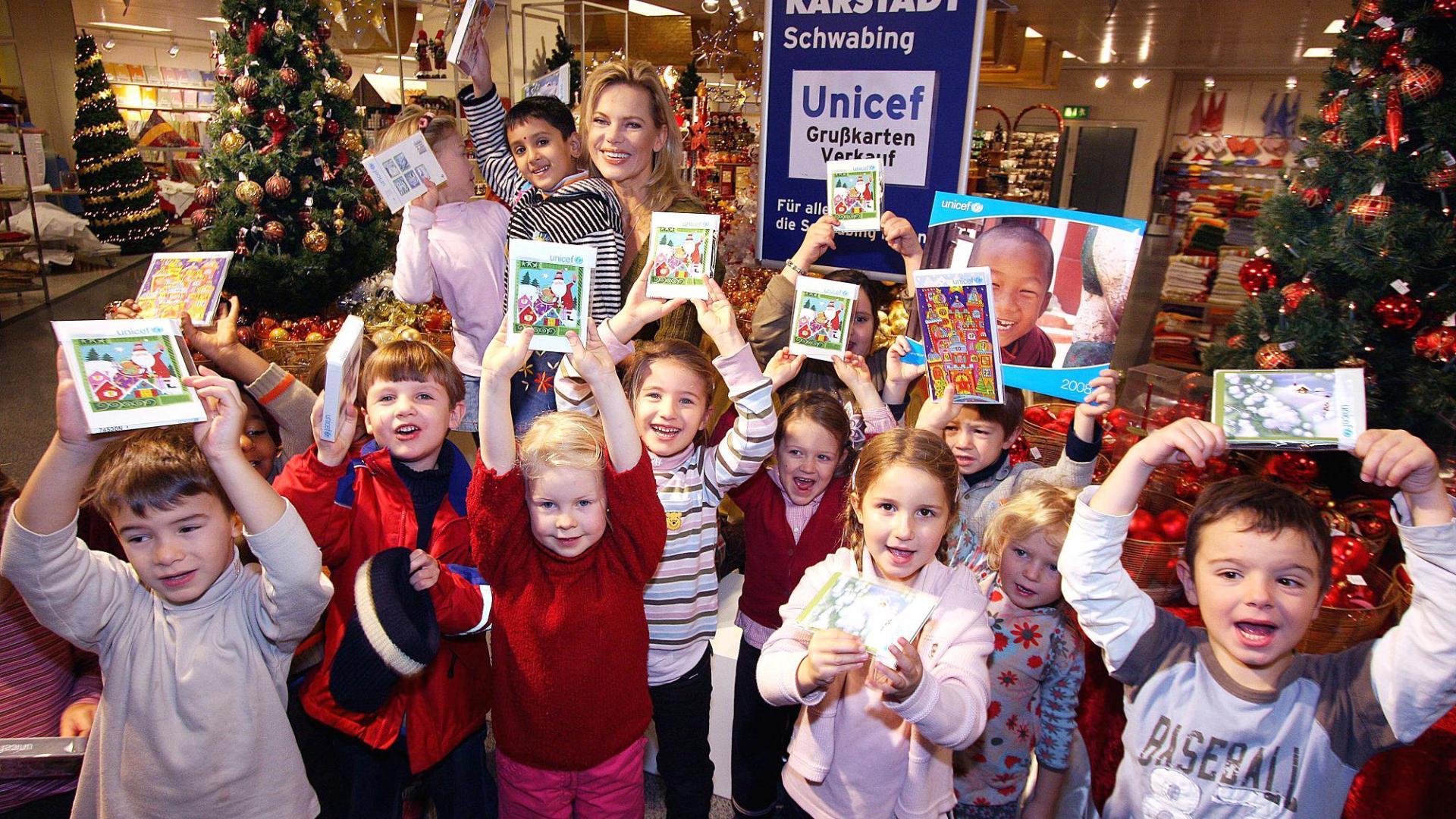 Kinder bei einem gemeinnützigen Event