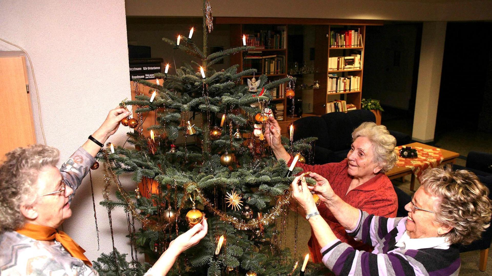 Weihnachten im Seniorenheim