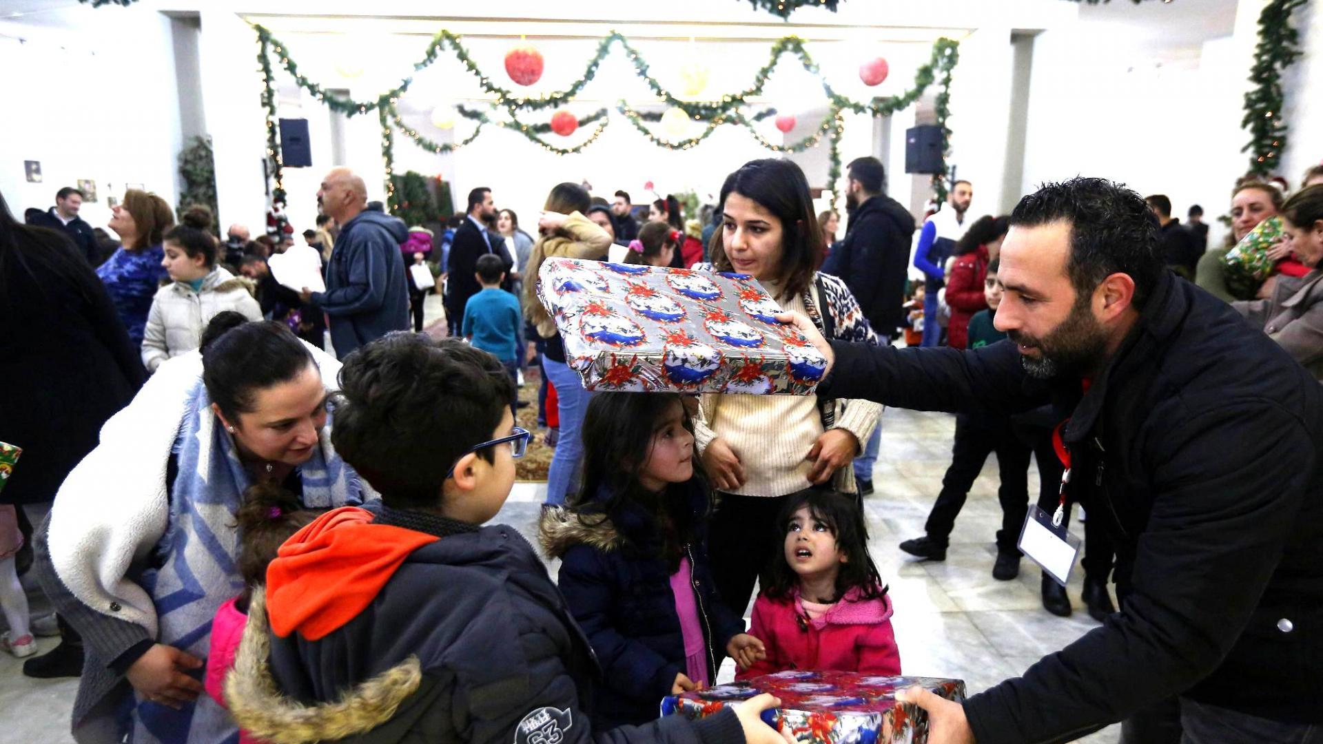 Weihnachten mit Flüchtlingen