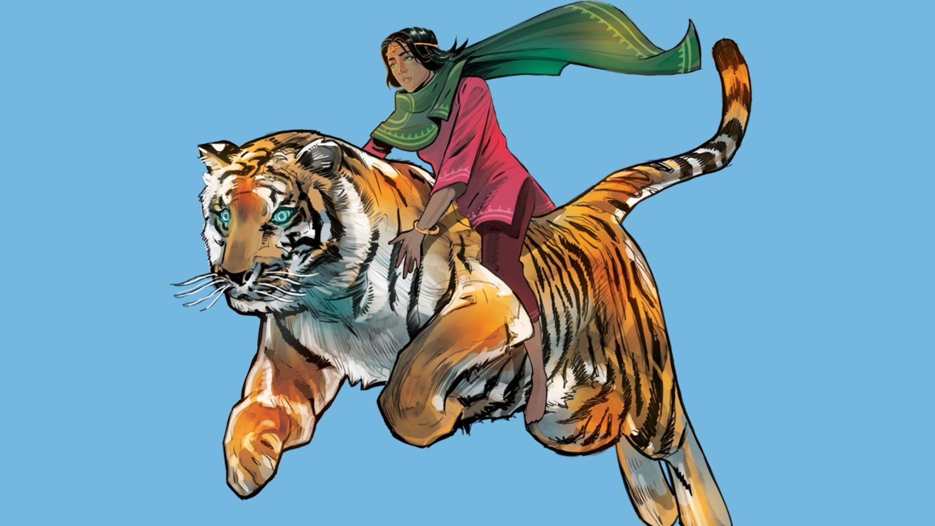 Priya's Shakti Comicheldin für Frauen in Indien