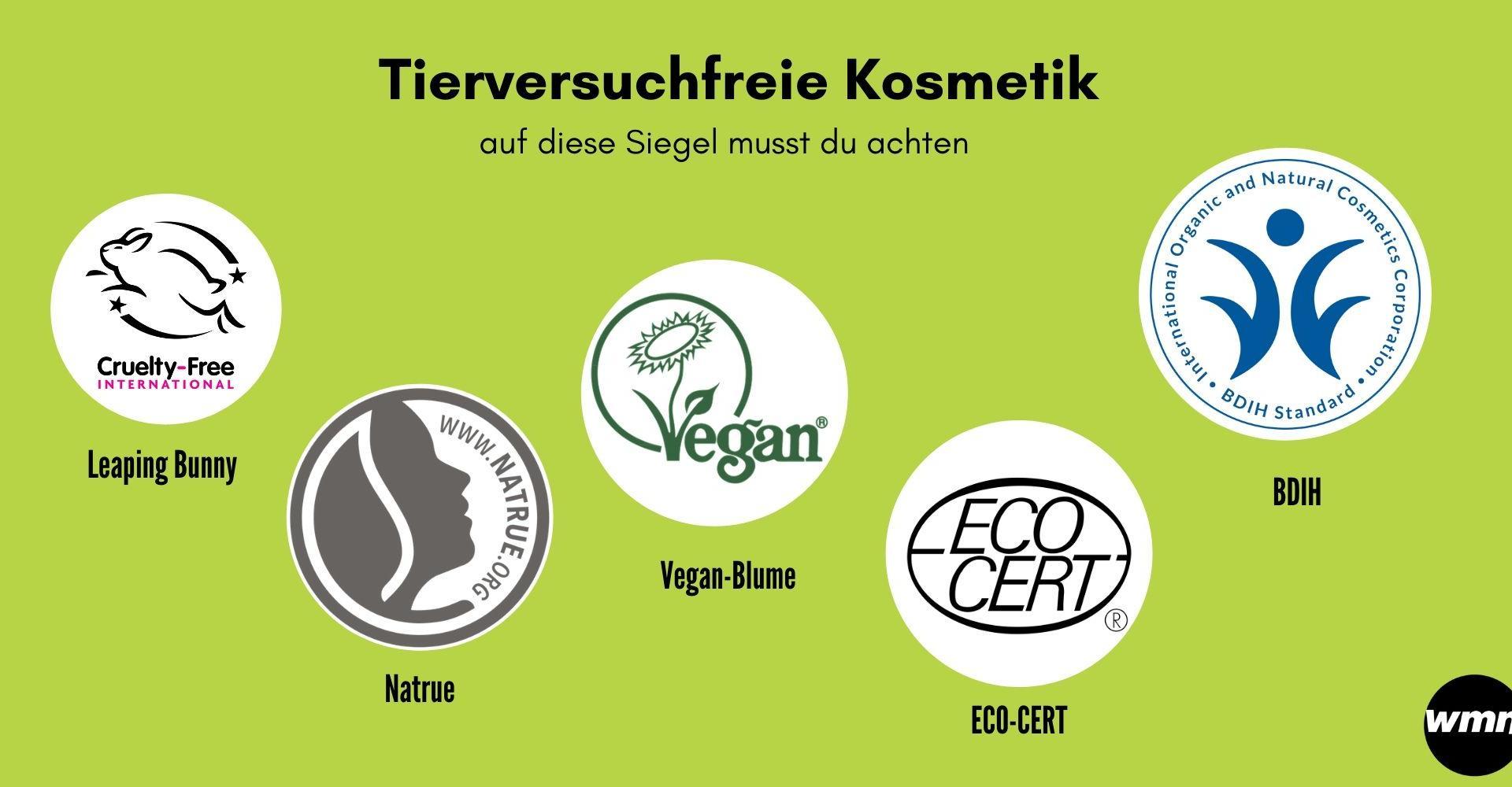 Tierversuchfreie Kosmetik erkennen Siegel