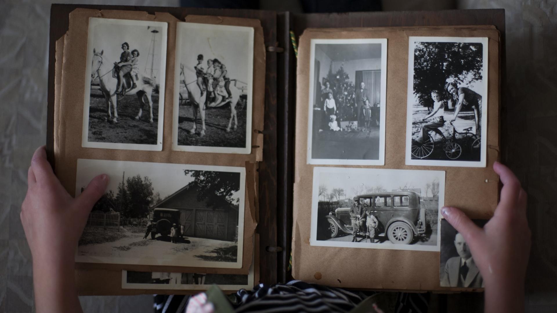 Vintage-Fotoalbum