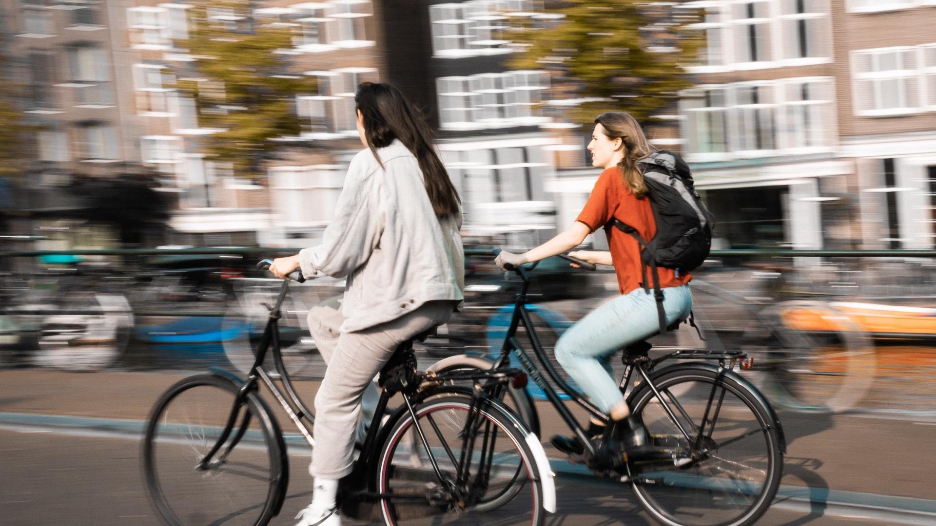 Mit dem Fahrrad zu Arbeit