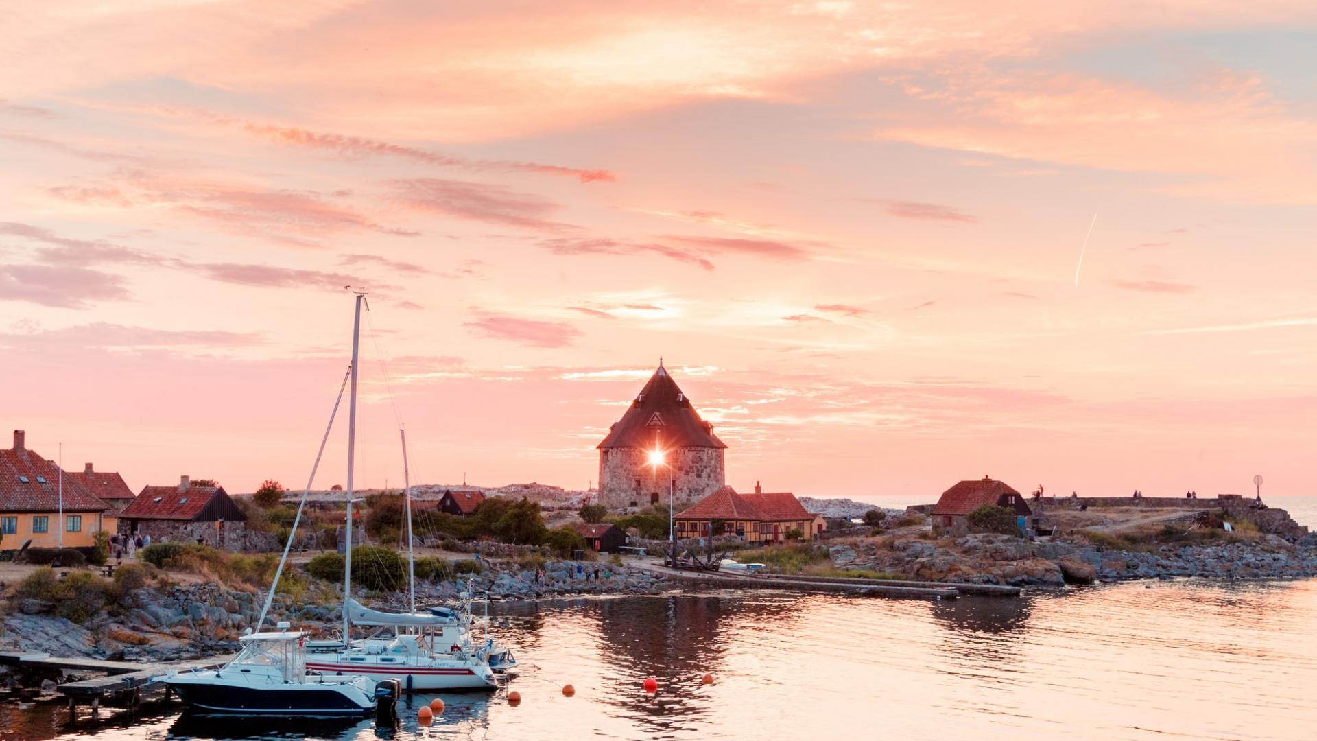 Insel in Dänemark