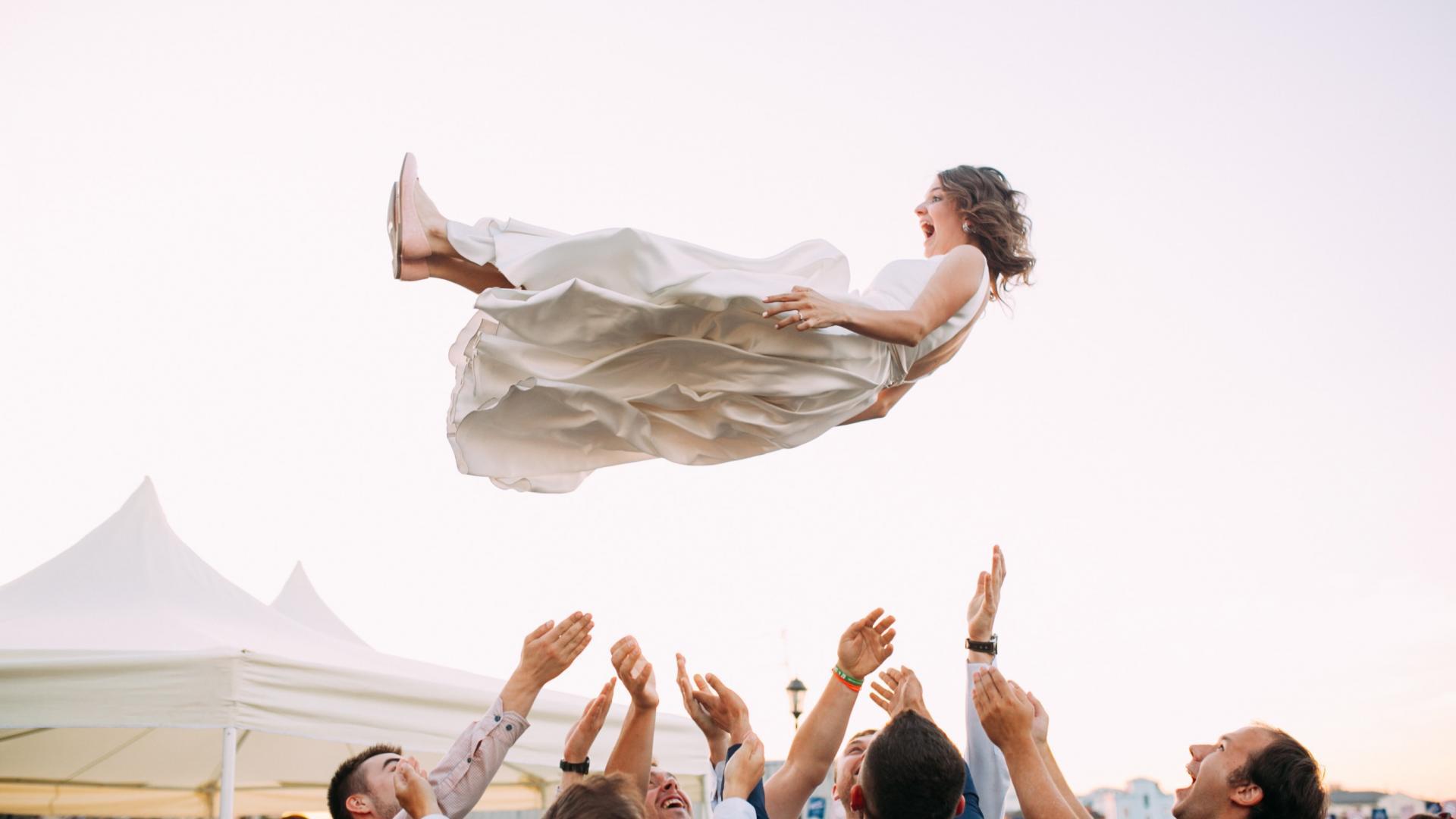 Fliegende Braut
