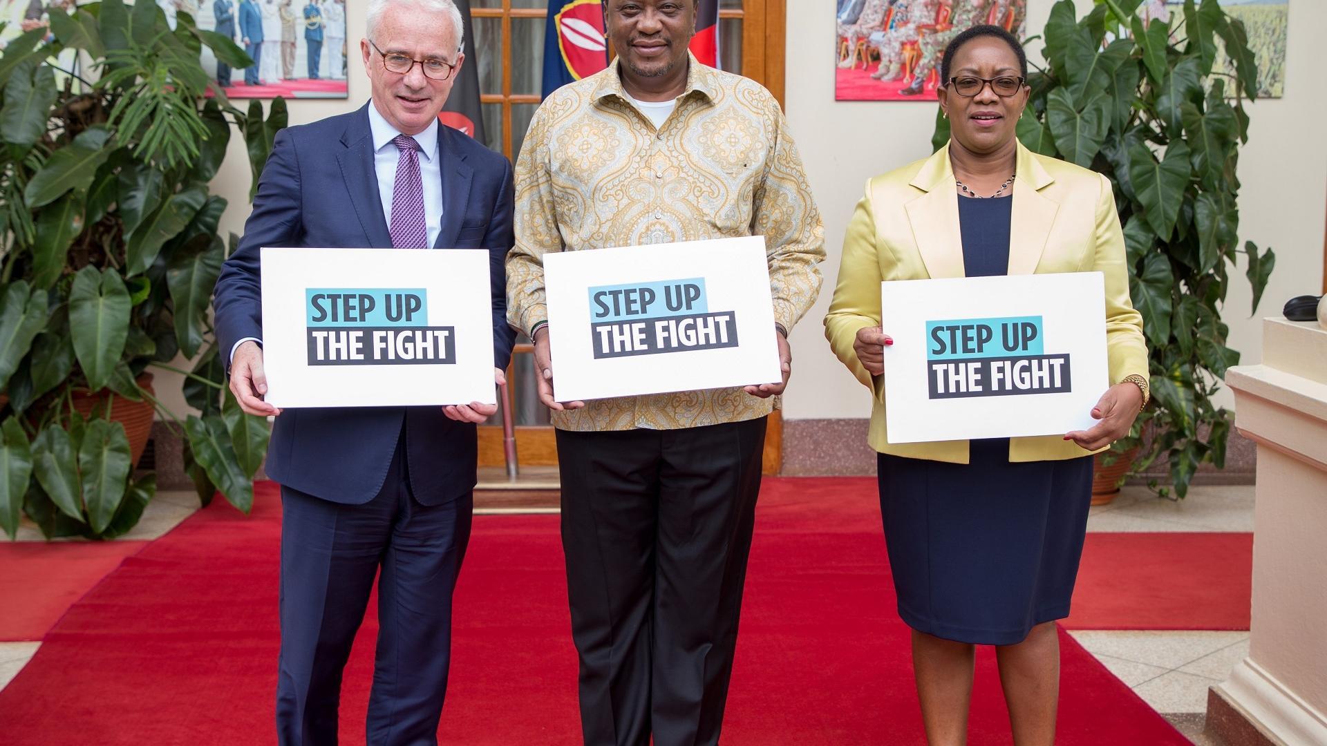 Kampf gegen AIDS