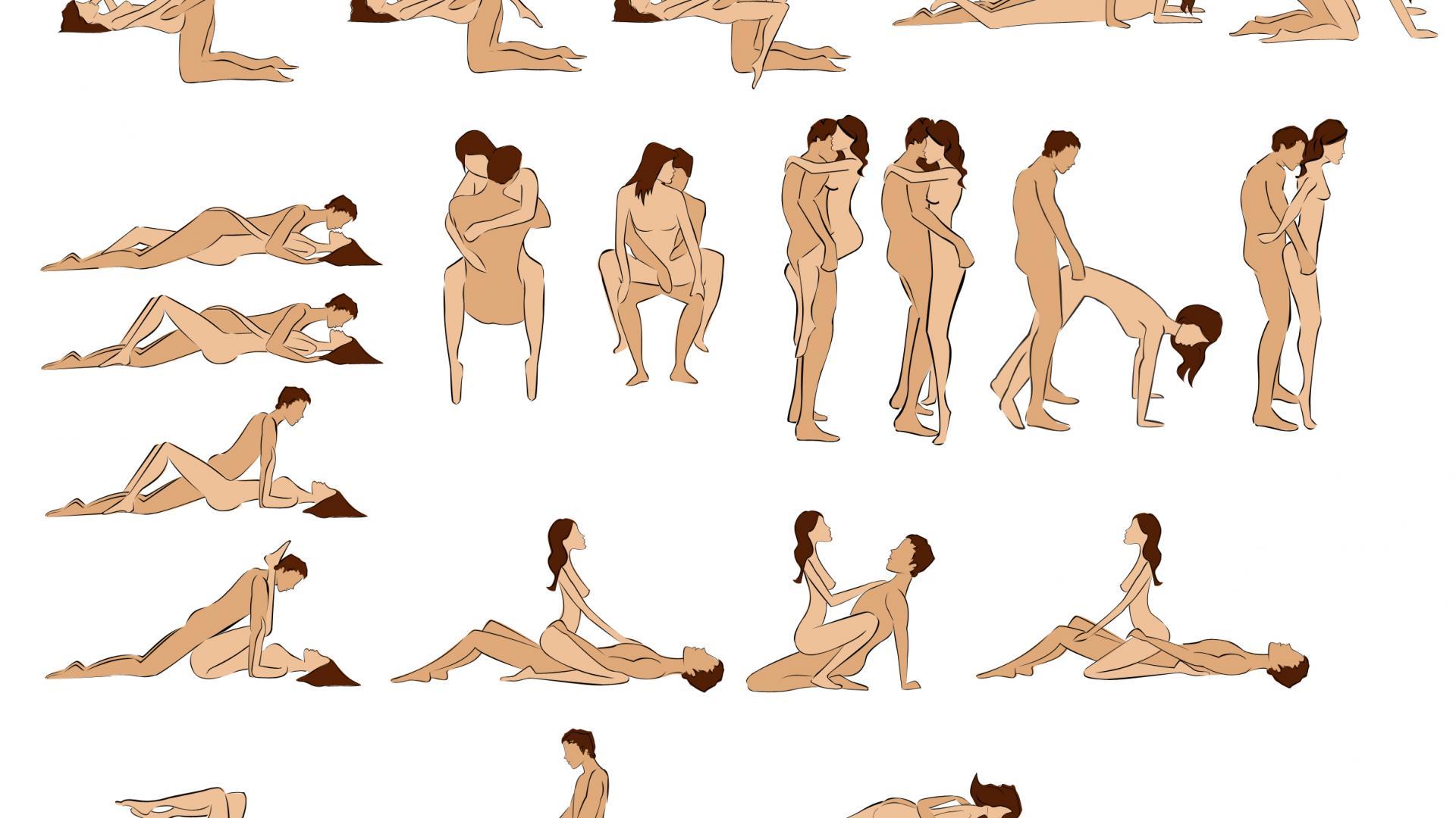 Sex Positionen des Kamasutra