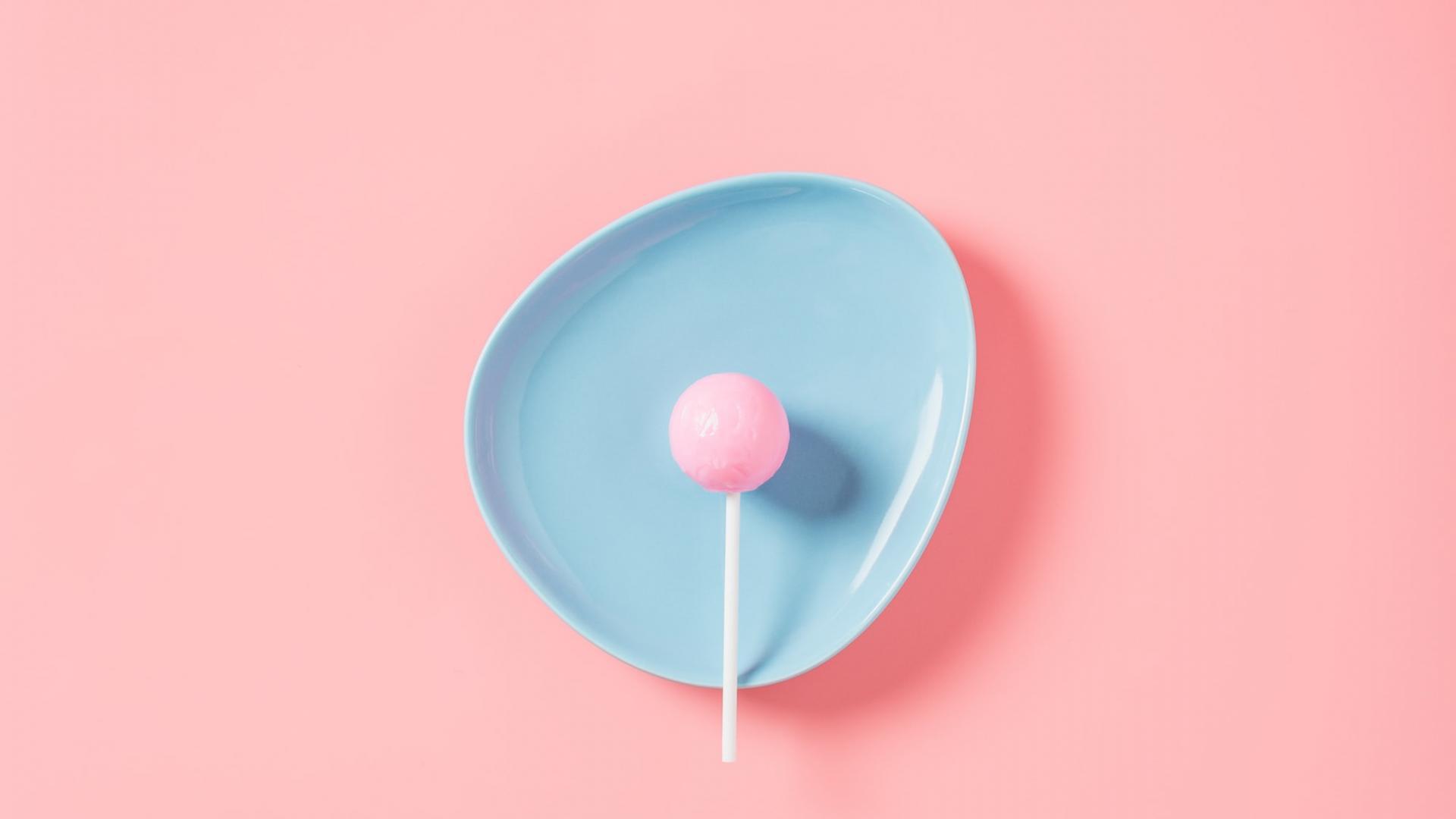 Butt Plug, Lollipop, Sex, rosa