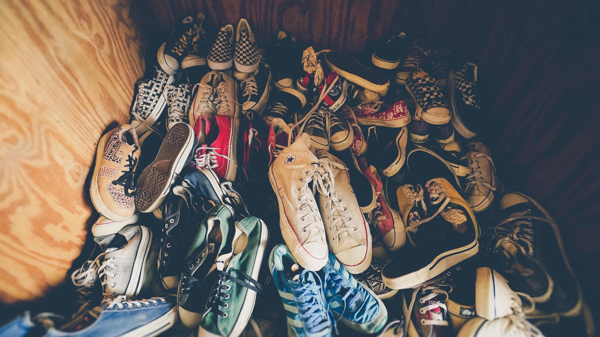 Schuhe Schrank