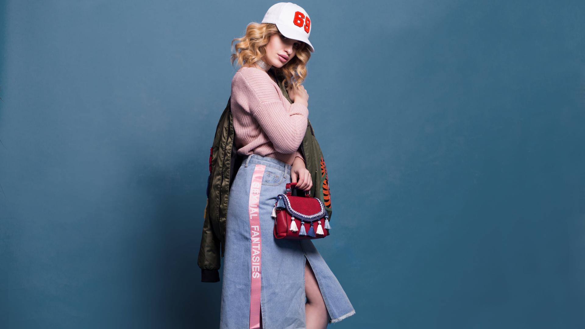 Vintage-Look Frau