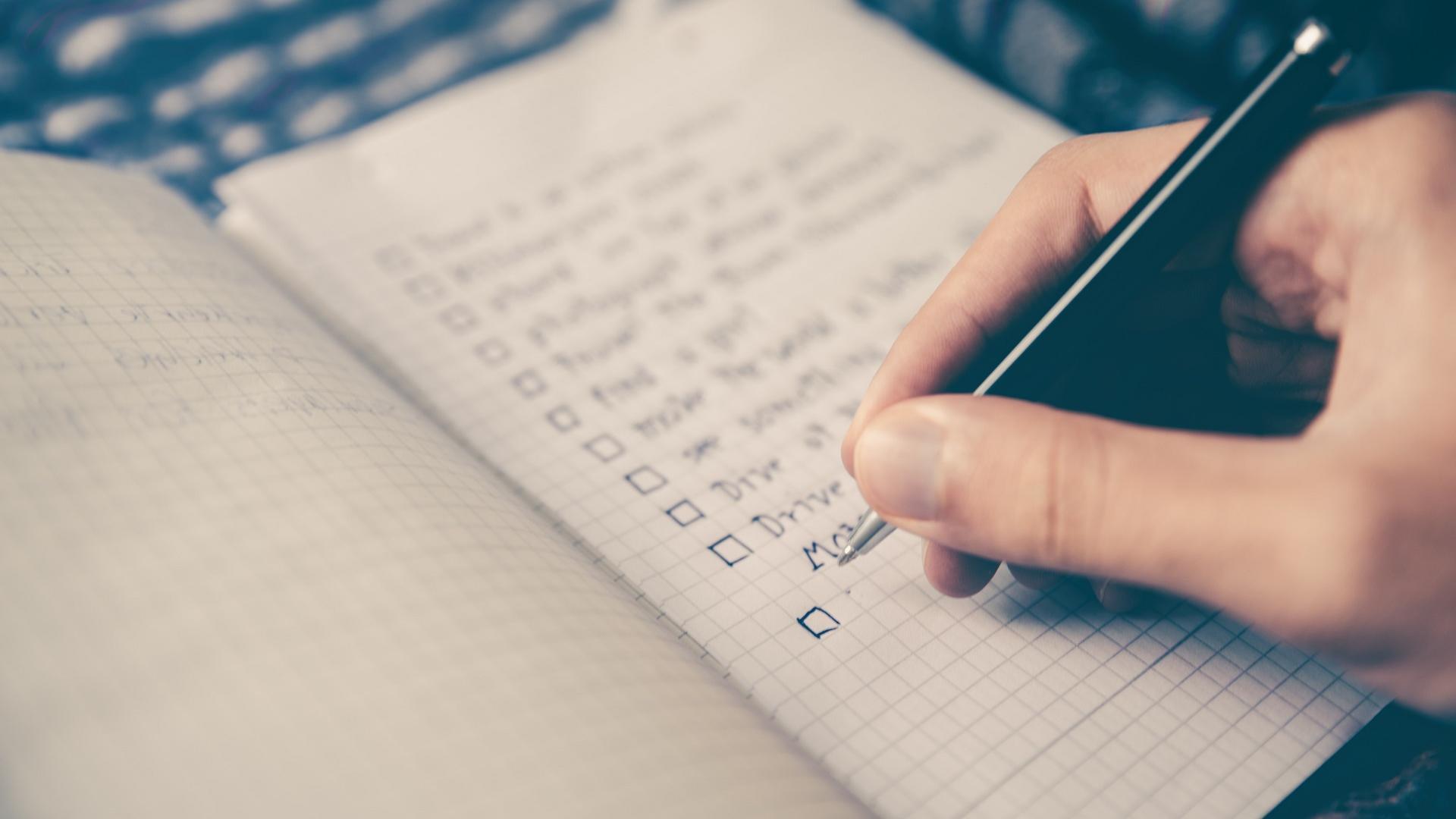 To-Do Liste Notizbuch
