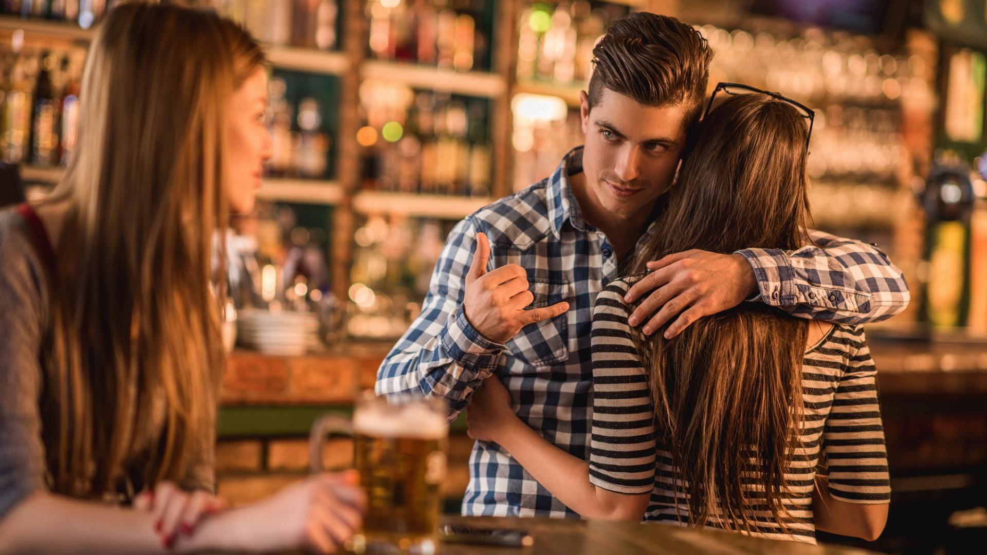 Mann Flirten Affäre