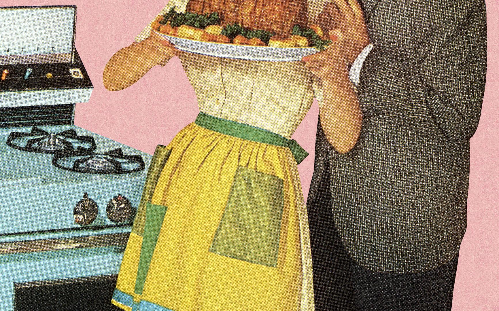 Frau Hausfrau 50er Jahre