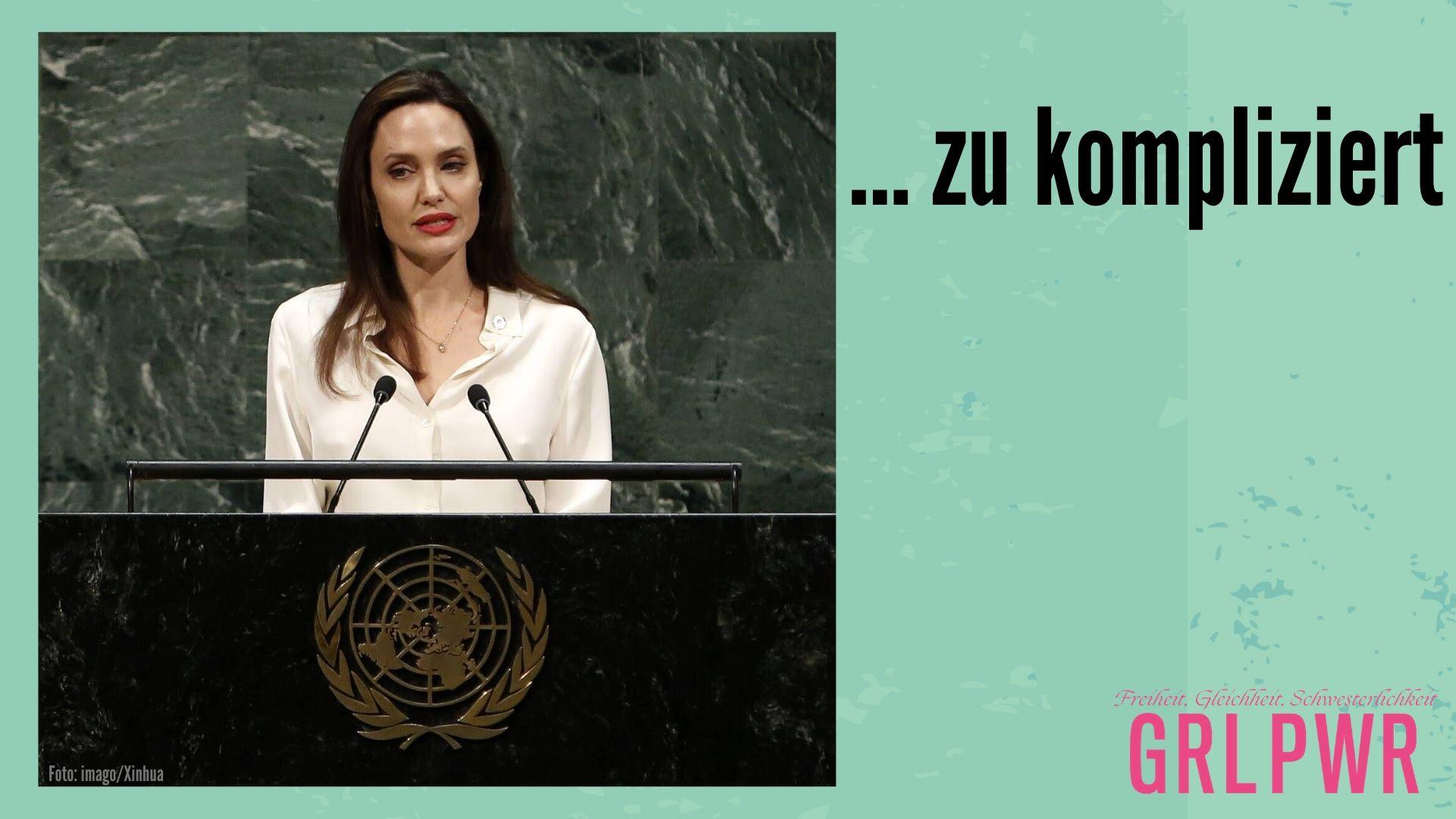 GRL PWR: Angelina Jolie